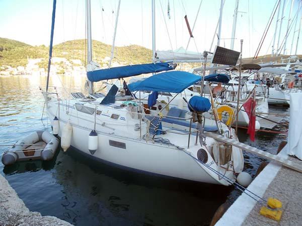 'Fluke' a Beneteau Oceanis 320